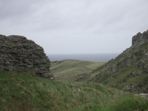 [Picture: Ruins of Tintagel Castle 4]