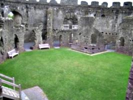 [picture: Restormel Castle 13: The interior]
