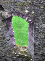 [picture: Restormel Castle 16: Castle window]