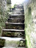[picture: Restormel Castle 20: Stone stairway to heaven]
