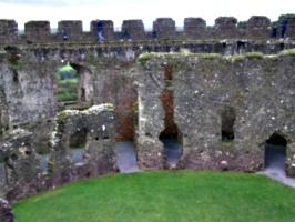 [picture: Restormel Castle 26: Inside the castle]