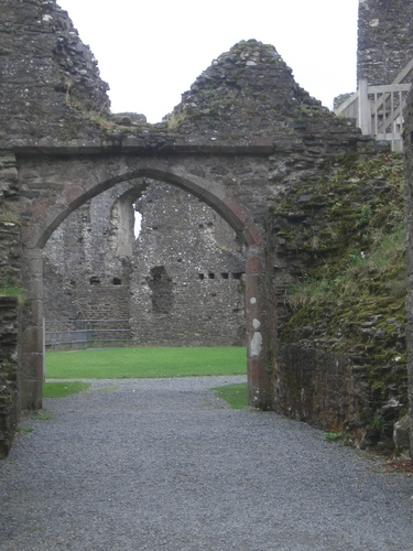 [Picture: Restormel Castle 7: The Entrance]