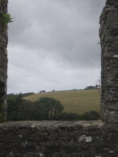 [Picture: Restormel Castle 14: View from the castle walls]