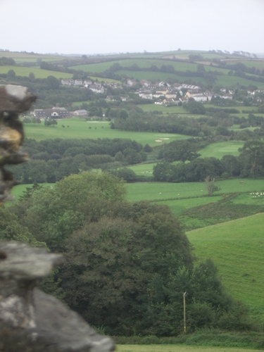 [Picture: Restormel Castle 15: View from the castle walls 2]
