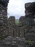 [Picture: Restormel Castle 24: On the castle roof]