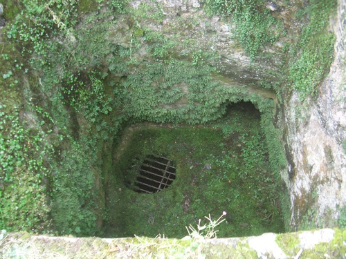 [Picture: Restormel Castle 30: Grating]