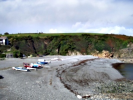[picture: Porthallow Beach]