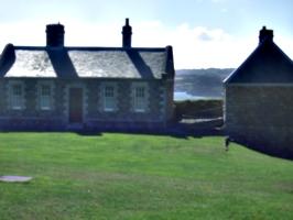 [picture: Pendennis Castle 9: Sergeants' mess]