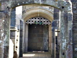 [picture: Pendennis Castle 15: Castle Keep entrance 3]