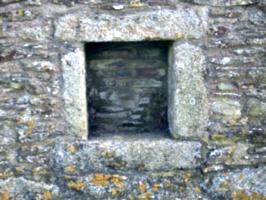 [picture: Pendennis Castle 17: Square niche]