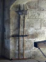 [picture: Pendennis Castle 40: Axes]