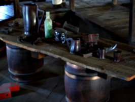 [picture: Pendennis Castle 41: Mess table]
