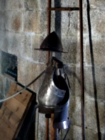 [picture: Pendennis Castle 45: Armour ready to use]