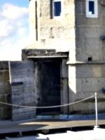 [picture: Pendennis Castle 47: Castle turret door]