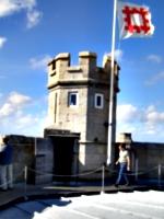 [picture: Pendennis Castle 48: Castle turret]