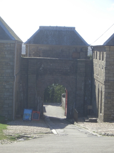 [Picture: Pendennis Castle 8: Entrance]