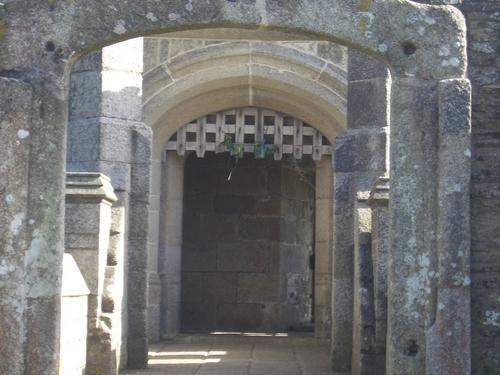 [Picture: Pendennis Castle 15: Castle Keep entrance 3]