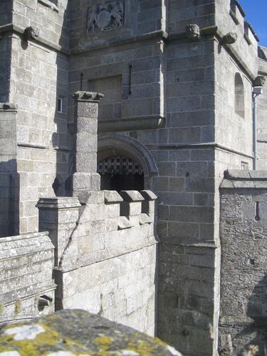 [Picture: Pendennis Castle 20: Gothic castle detail 3]