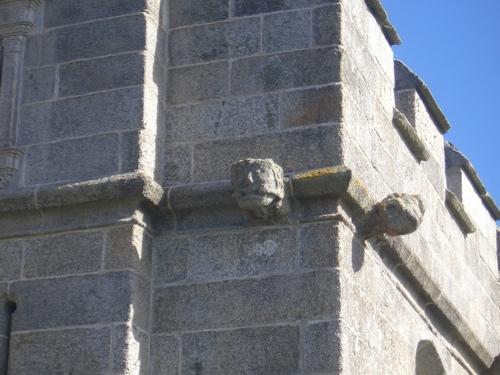 [Picture: Pendennis Castle 21: Gargoyle]