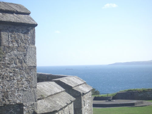 [Picture: Pendennis Castle 24: View from the castle tower]