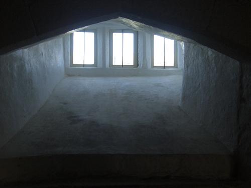 [Picture: Pendennis Castle 52: Castle window]