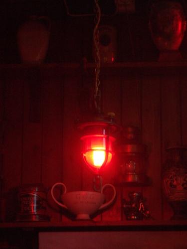 [Picture: Pendennis Castle 54: Lamp]