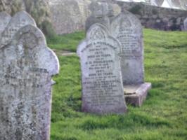 [picture: Cornish graveyard 2]