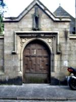 [picture: Parish Church: Ancient door]