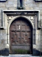 [picture: Parish Church 2: Ancient door 2]