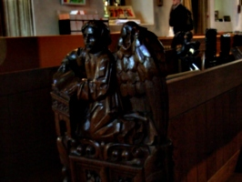 [picture: Parish Church 7: Carved angel 2]