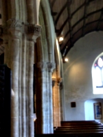 [picture: Parish Church 8: Stone pillars and arches]