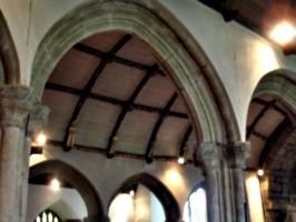 [picture: Parish Church 9: Stone pillars and arche2 s]