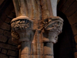 [picture: Parish Church 10: Arch decoration]
