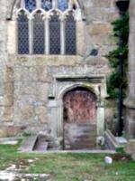 [picture: Parish Church 15: Outside door]