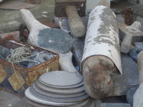 [Picture: Barbara Hepworth Musem & Sculpture Gallery 6: sculptor's tools]