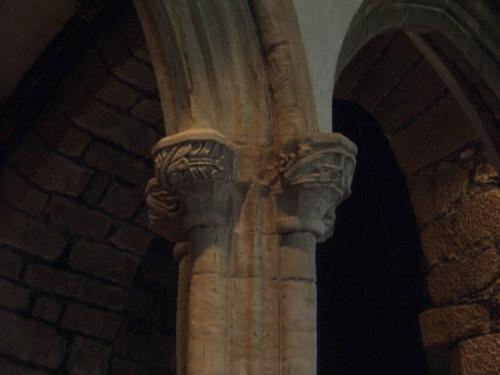 [Picture: Parish Church 11: Arch decoration 2]
