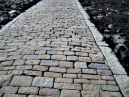 [picture: Cobbled path]