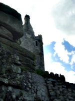 [picture: First glimpse of the castle]