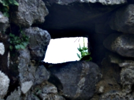 [picture: Through the sentry window]