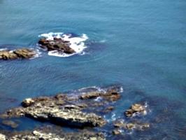 [picture: Rocks in the sea]