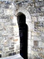 [picture: Stone doorway]