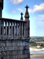 [picture: Gothic balcony]