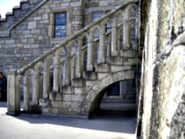[picture: Stone steps over arch 2]