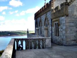 [picture: Stone balcony]