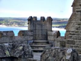 [picture: Stone turret]