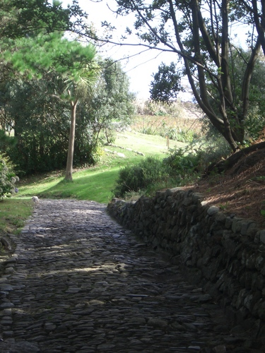 [Picture: Cobbled path 4]