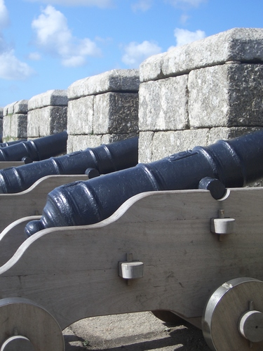 [Picture: Cannons]