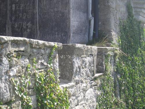 [Picture: Overgrown battlements]