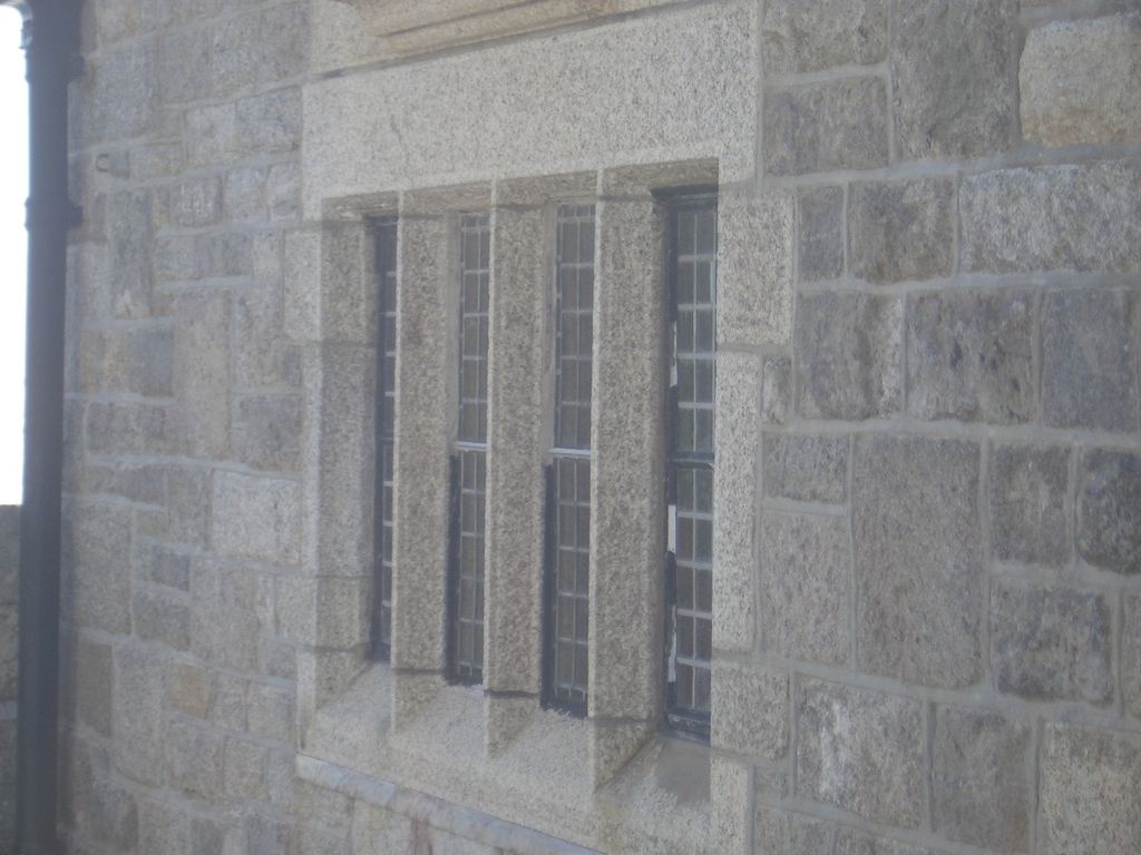 [Picture: Castle window]