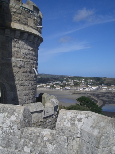 [Picture: Looking past the round tower 2]